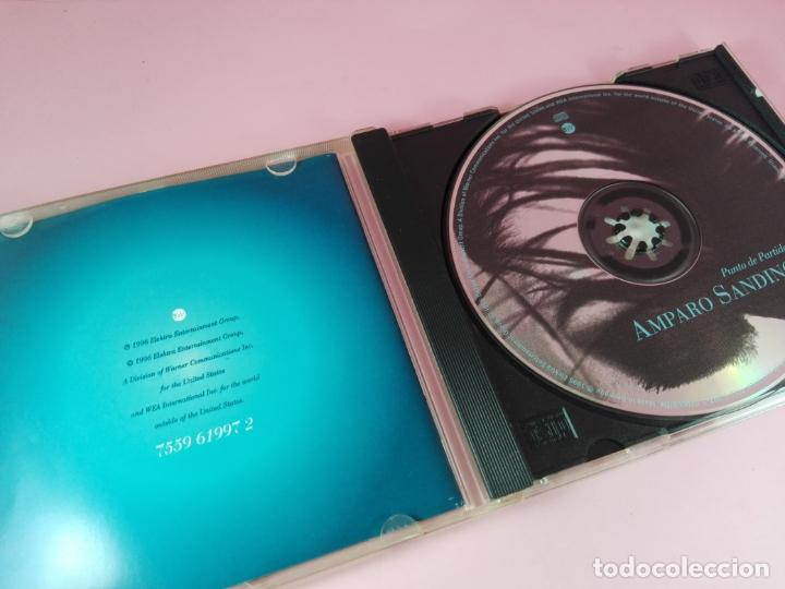 CDs de Música: CD-AMPARO SANDINO-PUNTO DE PARTIDA-1996-ELEKTRA/WARNER-10 TEMAS-BUEN ESTADO-VER FOTOS - Foto 3 - 166712746