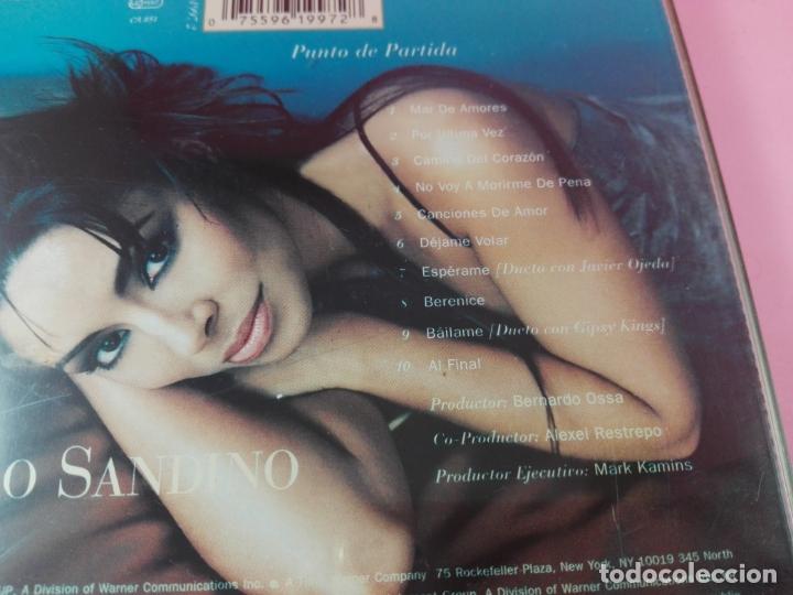 CDs de Música: CD-AMPARO SANDINO-PUNTO DE PARTIDA-1996-ELEKTRA/WARNER-10 TEMAS-BUEN ESTADO-VER FOTOS - Foto 4 - 166712746
