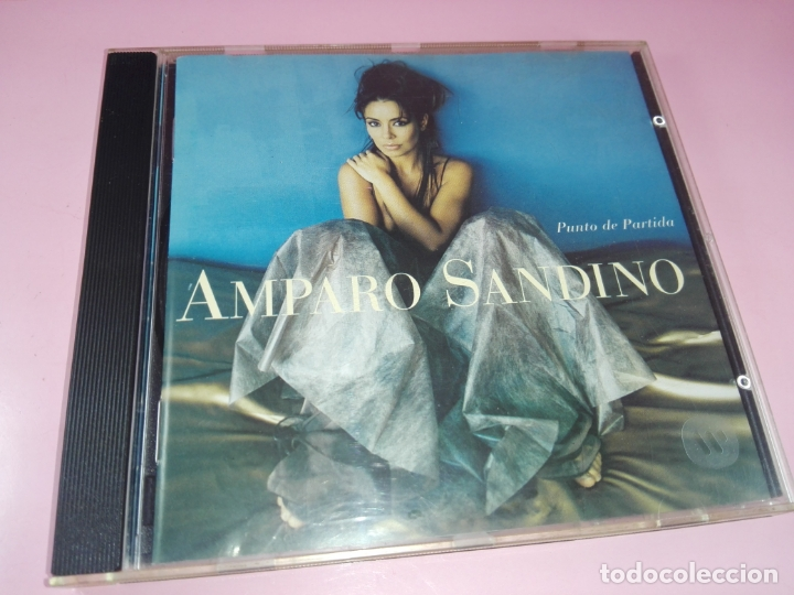 CDs de Música: CD-AMPARO SANDINO-PUNTO DE PARTIDA-1996-ELEKTRA/WARNER-10 TEMAS-BUEN ESTADO-VER FOTOS - Foto 13 - 166712746