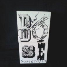 CDs de Música: MIGUEL BOSE - BOSEGRAFIA CON 10 CD Y 2 DVD - CONTIENE LIBRO - ESTUCHE FIRMADO POR MIGUEL BOSE. Lote 166721582