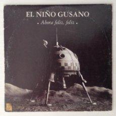 CDs de Música: EL NIÑO GUSANO CD PROMO AHORA FELIZ FELIZ. Lote 166727754