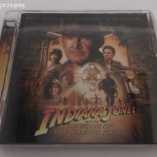CDs de Música: INDIANA JONES AND THE KIGDOM OF THE CRYSTAL SKULL JOHN WILLIAMS. Lote 166744322