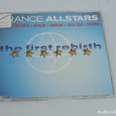 CDs de Música: TRANCE ALLSTARS - THE FIRST REBIRTH MAXI SINGLE CD. Lote 166763210