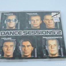 CDs de Música: DANCE SESSIONS 2 SINGLE CD. Lote 166768250