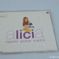 CDs de Música: ALICIA - OPEN YOUR EYES SINGLE MAXI CD. Lote 166768442