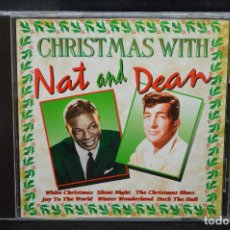 CDs de Música: NAT KING COLE & DEAN MARTIN - CHRISTMAS WITH NAT AND DEAN - CD. Lote 166769814