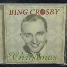 CDs de Música: BING CROSBY - THE VERY BEST OF BING CROSBY CHRISTMAS - CD. Lote 166770082