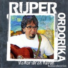 CDs de Música: RUPER ORDORIKA - MEMORIAREN MAPAN. Lote 166783118