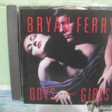CDs de Música: BRYAN FERRY - BOYS & GIRLS - CD ALBUM PEPETO. Lote 166816814