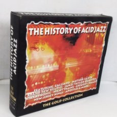 CDs de Música: THE HISTORY OF ACID JAZZ *** THE GOLD COLLECTION *** CAJA 2 CD`S. Lote 166861616
