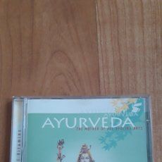 CDs de Música: AYURVEDA. THE MOTHER OF ALL HEALING ARTS. Lote 166863209