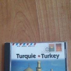 CDs de Música: TURQUIE. TURKEY. TURQUIA. AIR MAIL MUSIC. Lote 166863390