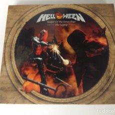CDs de Música: CD METAL/HELLOWEEN/KEEPER OF THE SEVEN KEYS/THE LEGACY/DOBLE CD. Lote 166875284
