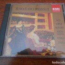 CDs de Música: 2CD FALLA/ALBENIZ/GRANADOS/MORENO/TORROBA/RODRIGO/TURINA. Lote 166906684