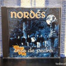 CDs de Música: NORDÉS - CRUZ DE PEDRA / RARO ALBUM CD AÑO 1994. (FOLK GALIZIA) SONIFOLK NM-NM. Lote 166919468