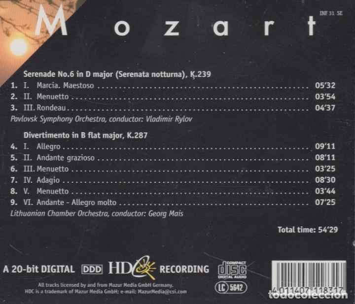 CDs de Música: MOZART. LITHUANIAN CHAMBER ORCHESTRA - Foto 2 - 166928588