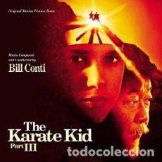CDs de Música: KARATE KID III: EL DESAFÍO FINAL MÚSICA COMPUESTA Y DIRIGIDA POR BILL CONTI. Lote 166942356