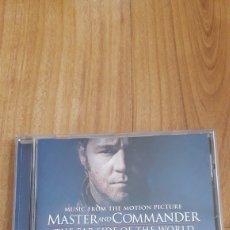 CDs de Música: BSO MASTER AND COMMANDER. Lote 167020566