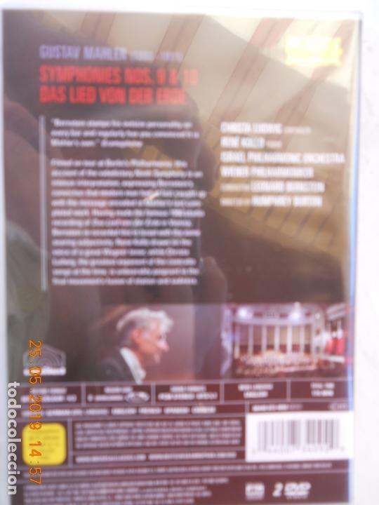 CDs de Música: LEONARD BERNSTEIN , MAHLER THE SYMPHONIES DAS LIED VON DER ERDE - 9 DVD - Foto 2 - 167041184