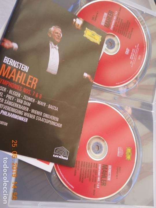 CDs de Música: LEONARD BERNSTEIN , MAHLER THE SYMPHONIES DAS LIED VON DER ERDE - 9 DVD - Foto 3 - 167041184