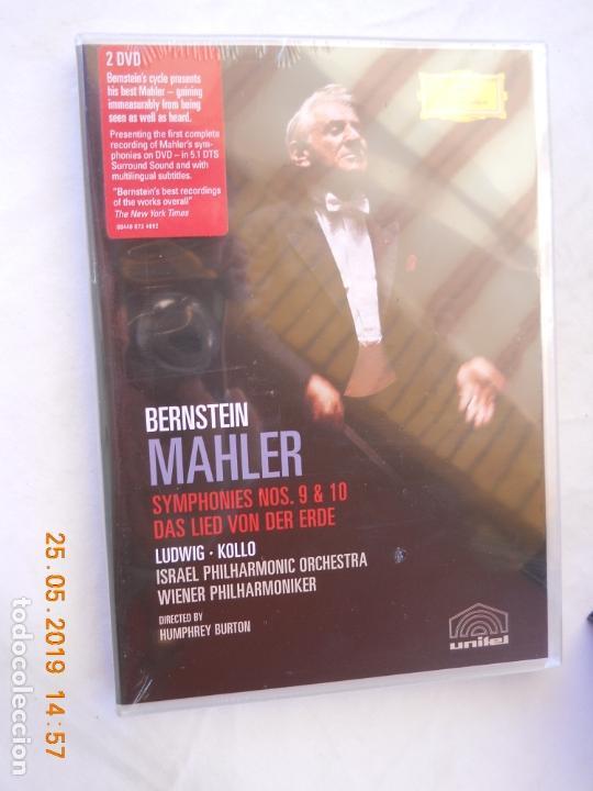 CDs de Música: LEONARD BERNSTEIN , MAHLER THE SYMPHONIES DAS LIED VON DER ERDE - 9 DVD - Foto 4 - 167041184