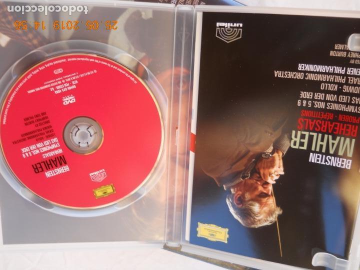 CDs de Música: LEONARD BERNSTEIN , MAHLER THE SYMPHONIES DAS LIED VON DER ERDE - 9 DVD - Foto 5 - 167041184