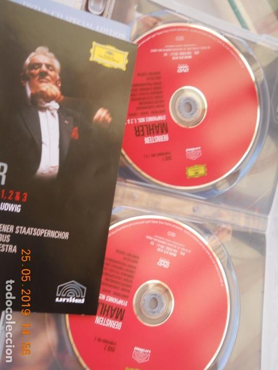CDs de Música: LEONARD BERNSTEIN , MAHLER THE SYMPHONIES DAS LIED VON DER ERDE - 9 DVD - Foto 6 - 167041184