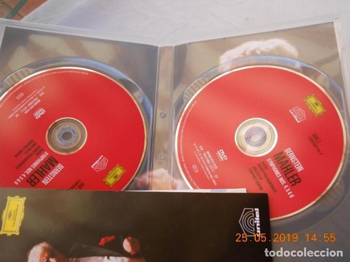 CDs de Música: LEONARD BERNSTEIN , MAHLER THE SYMPHONIES DAS LIED VON DER ERDE - 9 DVD - Foto 7 - 167041184