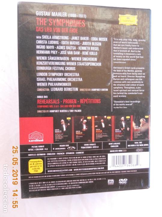 CDs de Música: LEONARD BERNSTEIN , MAHLER THE SYMPHONIES DAS LIED VON DER ERDE - 9 DVD - Foto 8 - 167041184