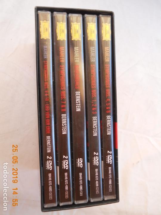 CDs de Música: LEONARD BERNSTEIN , MAHLER THE SYMPHONIES DAS LIED VON DER ERDE - 9 DVD - Foto 9 - 167041184