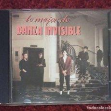 CDs de Música: DANZA INVISIBLE (LO MEJOR DE DANZA INVISIBLE) CD EDICIÓN 1989 - 12 TEMAS. Lote 167069884