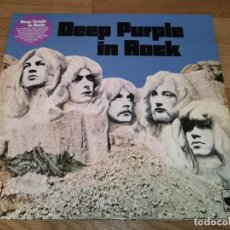 CDs de Música: DEEP PURPLE LP IN ROCK ..LIMITED EDIT. PURPLE VINYL REMASTER 2018-LED ZEPPELIN-BLACK SABBATH. Lote 167074916