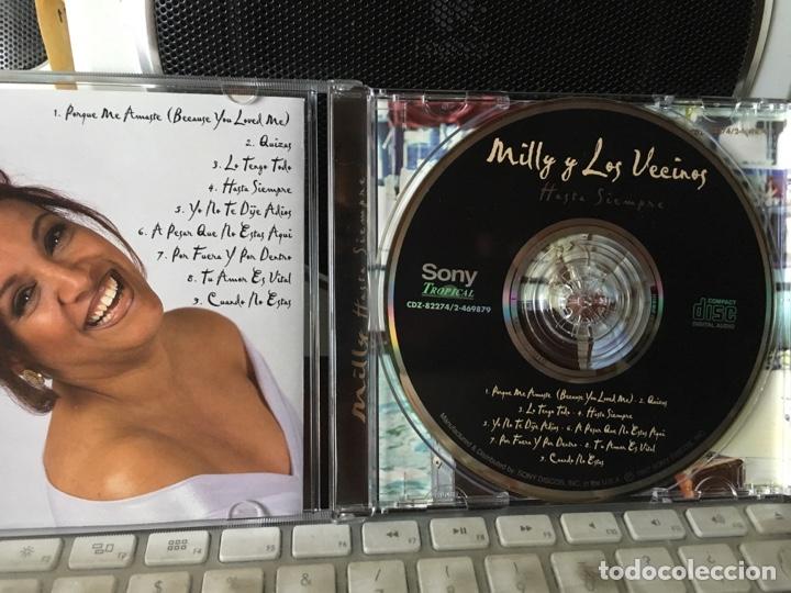 CDs de Música: MILLY Y LOS VECINOS-HASTA SIEMPRE-1997 - Foto 3 - 167096096