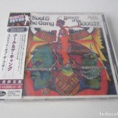 CDs de Música: KOOL & THE GANG - SPIRIT OF THE BOOGIE 1975/2018 JAPAN CD. Lote 167102592