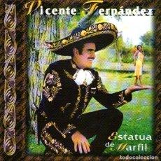 CDs de Música: VICENTE FERNÁNDEZ - ESTATUA DE MARFIL - CD ALBUM - 10 TRACKS - SONY MUSIC / EPIC 1997. Lote 167110648