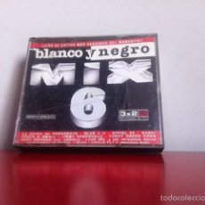 CDs de Música: CD . BLANCO Y NEGRO MIX 6. 3 CD'S. Lote 167142016