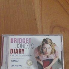 CDs de Música: BSO DIARIO SECRETO DE BRIDGET JONES. Lote 167145581