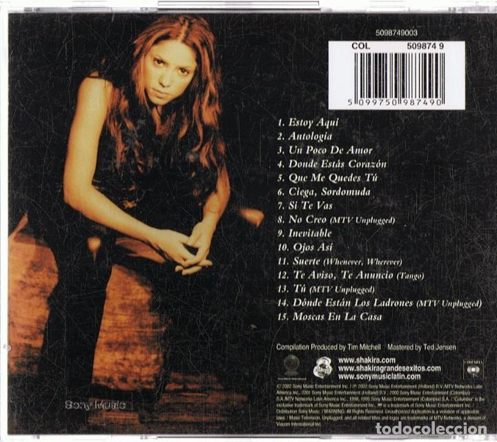 CDs de Música: SHAKIRA GRANDES ÉXITOS (CD) - Foto 2 - 167160152