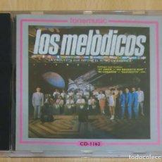 CDs de Música: LOS MELODICOS (LA ORQUESTA QUE IMPONE EL RITMO DE AMERICA) CD 1992 - LIZ. Lote 167166712