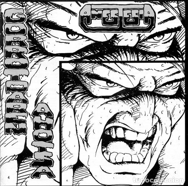 ANESTESIA - GORROTOAREN AHOTSA (Música - CD's Heavy Metal)