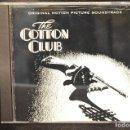 CDs de Música: THE COTTON CLUB - BANDA SONORA- CD. Lote 167226722