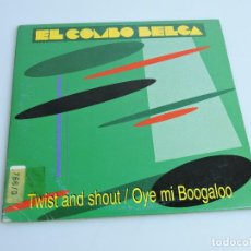 CDs de Música: EL COMBO BELGA – TWIST AND SHOUT/ OYE MI BOOGALOO SINGLE PROMO CD. Lote 184075671