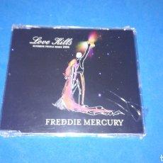 CDs de Música: MCD - FREDDIE MERCURY - LOVE KILLS - SUNSHINE PEOPLE REMIX 2006 - 4 TRACKS - NUEVO PRECINTADO. Lote 167292728