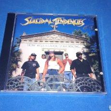 CDs de Música: SUICIDAL TENDENCIES - HOW WILL I LAUGH TOMORROW... - NUEVO PRECINTADO. Lote 167297953