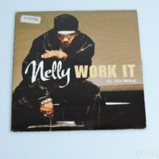 CDs de Música: NELLY FEAT. JUSTIN TIMBERLAKE ‎– WORK IT SINGLE CD. Lote 167321276