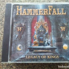 CDs de Música: CD -- HAMMERFALL -- LEGACY OF KINGS -- 10 TEMAS -- . Lote 167465588
