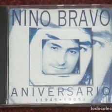 CDs de Música: NINO BRAVO (ANIVERSARIO 1945 - 1995) CD 1995. Lote 167466764