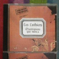 CDs de Música: LES LUTHIERS (MASTROPIERO QUE NUNCA - VOL. 1 Y VOL. 2) 2 CD'S 1996 ARGENTINA. Lote 167471448