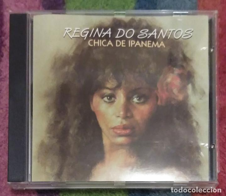 REGINA DO SANTOS (CHICA DE IPANEMA) CD 1994 EDICION ESPAÑOLA (Música - CD's Latina)