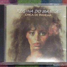 CDs de Música: REGINA DO SANTOS (CHICA DE IPANEMA) CD 1994 EDICION ESPAÑOLA . Lote 167474004